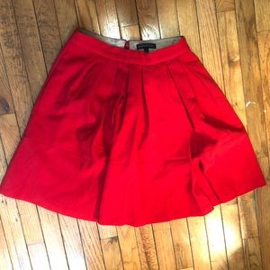 Banana Republic A Line Red Skirt with Pockets - 6